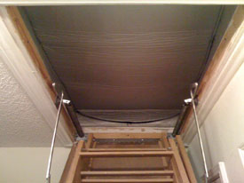 Attic Stairs Attic Tent