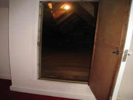 Full Attic Door Attic Tent